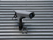 kamerabevakning royaltyfri fotografi