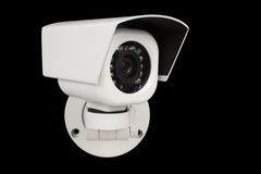 kameracctv-säkerhet royaltyfria bilder