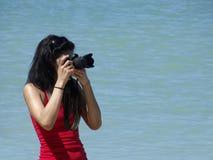 Kameraeintragfaden stockfotografie