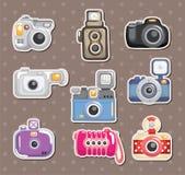 kameraetiketter Royaltyfri Fotografi