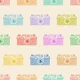 Kamerafarbmuster Lizenzfreie Stockfotos