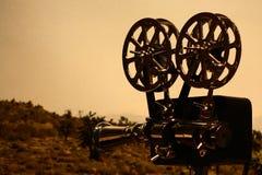 kamerafilmtappning Arkivbild