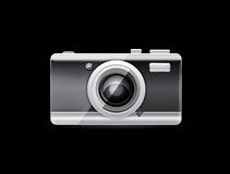kamerafotovektor Arkivfoton
