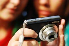 kameragyckelfack Fotografering för Bildbyråer
