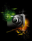 kameraillustration Royaltyfria Bilder