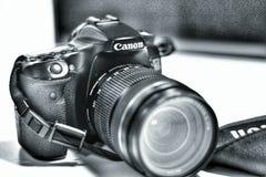 Kamerakanon royaltyfria bilder