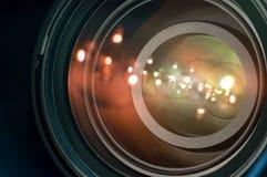 kameralins Arkivfoto