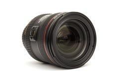 Kameralinsen Canon 24-70 F4L ÄR USM Arkivbilder