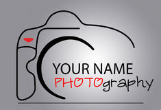 Kameralogo Arkivfoton