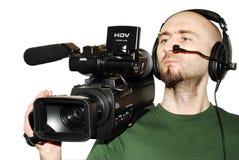 Kameramann Lizenzfreie Stockfotos