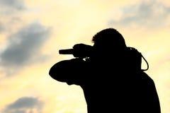 Kameramann Lizenzfreies Stockfoto