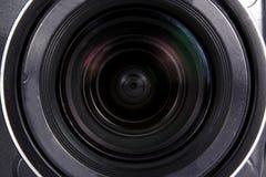 Kameraobjektiv-Hintergrund Stockbild