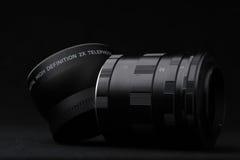 Satz des Erweiterungsrohrs benutzt für Makrophotographie Stockbilder