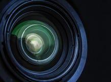 Kameraobjektivoptik Lizenzfreie Stockfotos