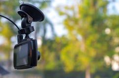 Kamerarecorder angebracht in Fahrzeug Lizenzfreie Stockfotografie