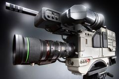 Kamerarecorderfilmschießen- und -Videoproduktion lizenzfreie abbildung