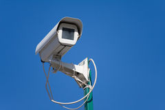 kamerasäkerhetsvideo Arkivfoton