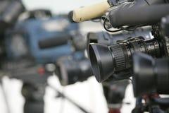Kameras Lizenzfreies Stockfoto