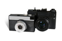 Kameras Retro- Stockfotos