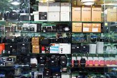 Kamerashop stockbilder