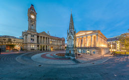 Kamerheer Square, Birmingham stock afbeeldingen
