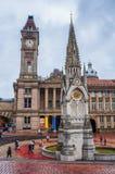 Kamerheer Square in Birmingham royalty-vrije stock afbeelding
