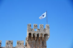 Kamerlengo castle in Trogir, Croatia. - architectural details Royalty Free Stock Photos
