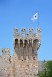 Kamerlengo castle in Trogir, Croatia. - architectural details Stock Photo