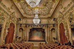 Kamermuziektheater Royalty-vrije Stock Afbeeldingen