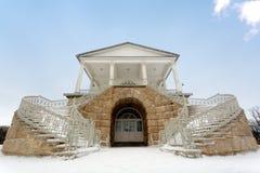 Kameron画廊, Tsarskoe selo 图库摄影