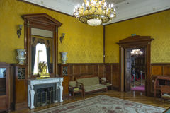 Kamers van Livadia-Paleis, de Krim stock afbeelding