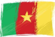 kamerun flagi crunch Obrazy Stock