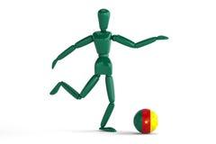 Kamerunfotboll Royaltyfri Bild