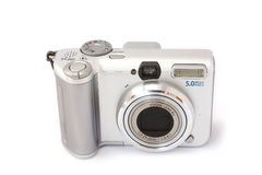 kamery ścisłego cyfrowego przodu odosobniony biel Obrazy Royalty Free