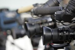 kamery. Fotografia Stock