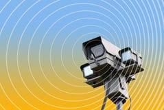 kamery abstrakcjonistyczna ochrona obraz stock