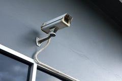 Kamery bezpieczeństwa na ścianie fotografia stock