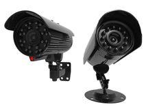 Kamery bezpieczeństwa z zdolność widzenia w ciemnościach obrazy royalty free