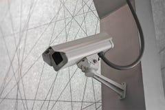 Kamery Bezpieczeństwa CCTV na schody abstrakta linii tle Zdjęcie Stock