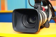 kamery cyfrowej profesjonalistów śliwek ścieżki wideo obrazy stock