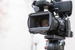 kamery cyfrowej profesjonalistów śliwek ścieżki wideo Obraz Royalty Free