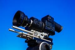 kamery cyfrowej profesjonalistów śliwek ścieżki wideo Fotografia Stock