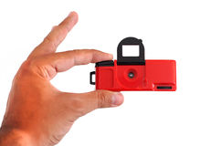 kamery czerwień Zdjęcie Stock