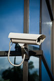 kamery dołączająca target1980_1_ ochrona Fotografia Stock