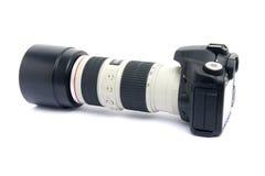 kamery dslr obiektywu zoom Obrazy Royalty Free
