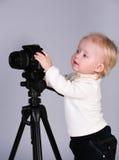 kamery dziecka studio Obrazy Stock
