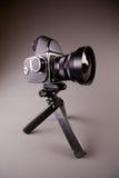 kamery grey cześć fotografii res tripod Obrazy Stock