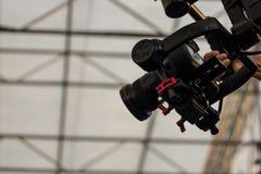 Kamery i wizerunku stabilizatoru wideo pojęcia szablon Fotografia Royalty Free