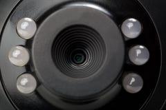 Kamery internetowej zamknięta up panorama Zdjęcie Royalty Free