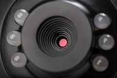 Kamery internetowej zamknięta up panorama Obraz Royalty Free